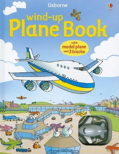 Usborne Wind-Up Airplane Book WIND-UP PLANE BOOK SkySupplyUSA.com