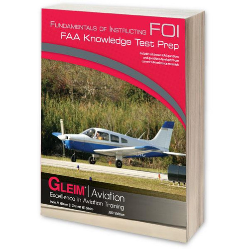 Gleim 2021 Fundamentals of Instructing Knowledge Test Prep G-FOI-21 9781618543271 SkySupplyUSA.com