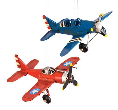 Single Prop Plane Ornament ORN-VA ORN-VAB ORN-VAR SkySupplyUSA.com
