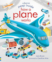 Usborne Peep Inside: How a Plane Works HOW A PLANE WORKS SkySupplyUSA.com