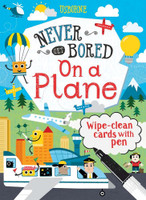 Usborne Never Get Bored on a Plane NEVER BORED SkySupplyUSA.com