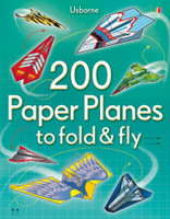 Usborne 200 Paper Planes to Fold & Fly 200 PAPER PLANES SkySupplyUSA.com