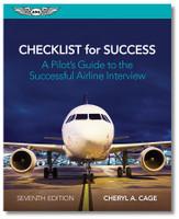 ASA Checklist for Success - 7th Edition  ASA-CKLIST-7 ISBN: 978-1-61954-945-6 SkySupplyUSA.com