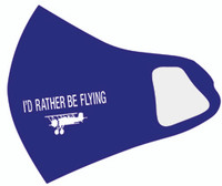 I'D Rather Be Flying Face Mask AN-IRFM SkySupplyUSA.com