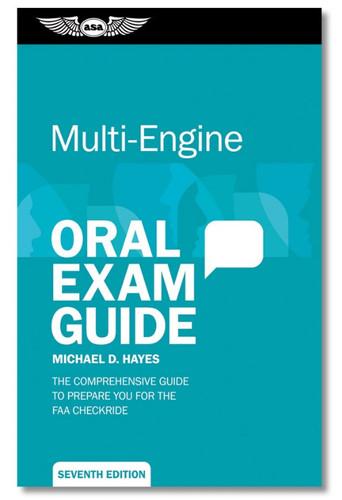 ASA Oral Exam Guide - Multi-Engine ASA-OEG-ME8 9781644250853 SkySupplyUSA.com