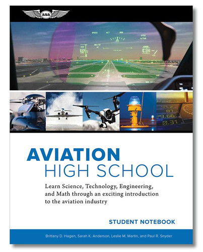 ASA Aviation High School Student Notebook ASA-AVHS-SN 9781619549326 SkySupplyUSA.com
