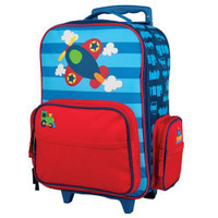 Kids' Airplane Classic Rolling Luggage AP-LUGGAGE SkySupplyUSA.com