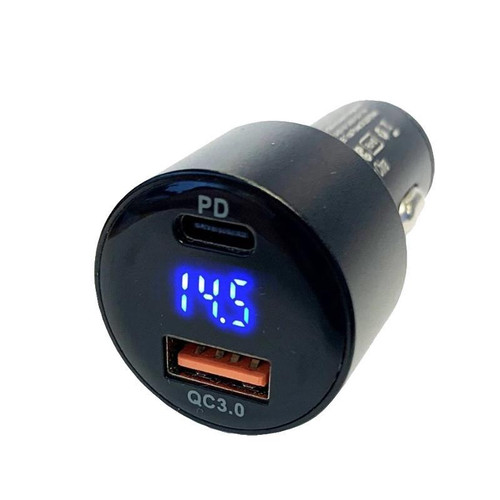 MyGoFlight Dual Digital USB Charger MGF-ACC-1079 SkySupplyUSA.com