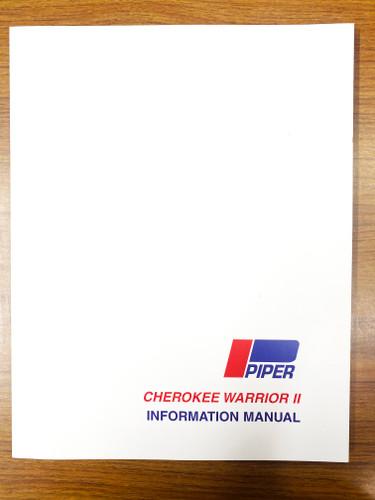 Piper PA28-161 Warrior II 1977-1982 Pilot's Information Manual 761-649 SkySupplyUSA.com