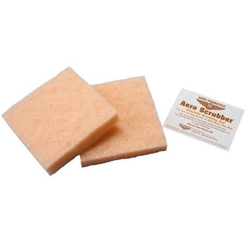Aero Cosmetics Aero Mini Mop Scrubber Pads 2-pack (Orange) BBS SkySupplyUSA.com