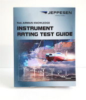 Jeppesen Instrument Rating FAA Knowledge Test Guide, 20th edition 10001388-020 ISBN: 9780884876816 SkySupplyUSA.com