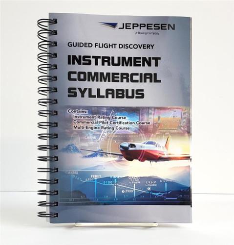 Jeppesen Instrument / Commercial Syllabus, 5th edition 10001785-005 ISBN: 9780884876564 SkySupplyUSA.com