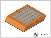 Brackett Air Filter (Element only) (BA-6108)-SkySupplyUSA