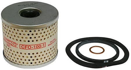 Champion CFO 100-1 Oil Filter (CFO-100-1)-SkySupplyUSA
