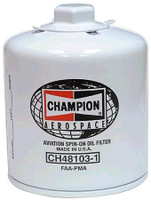 Champion CH48103-1 oil filter (CH48103-1)-SkySupplyUSA