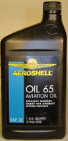 Aeroshell 65 Straight Grade Engine Oil (Case) Aeroshell65case