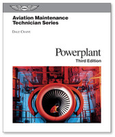 Aviation Maintenance Technician Series:Powerplant-3rd Edition-ASA-AMT-P3 (Hardcover)  (ASA-AMT-P3)-SkySupplyUSA ISBN: 978-1-56027-862-7