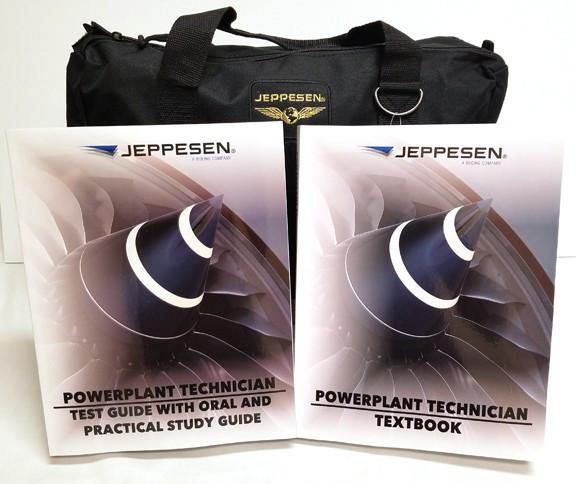 Jeppesen Aviation Maintenance Powerplant Training Kit
