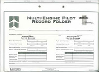 Jeppesen Multi Engine Record Folder