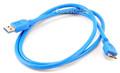 3 ft. USB 3.0 Super-Speed A Male to Micro-B Male, Manhattan 325417