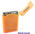 3.5 Inch HDD Protective Storage Box for IDE or SATA, Orange