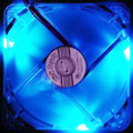 3/4-Pin 120mm Case Fan, Blue LED