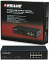 Full 8-Port 7.3 Watts PoE Ethernet Office Switch, Intellinet 560412