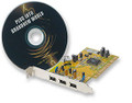 3 Port PCI FireWire Card w/ Image Software