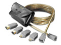 10' Universal 3 in 1 FireWire Cable, GoldX GXQF-10
