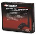 Wireless 150N USB Adapter, 1T1R, Detachable Antenna, Intellinet 524698