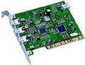 PCI to FireWire IEEE 1394 3+1 Ports Host Adapter, Koutech