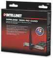 Wireless 150N PCI Card with Detachable Antenna, Intellinet 524810
