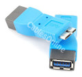 4-Port USB 3.0 Super-Speed Hub with Power Adapter, Manhattan 161220: USB 3.0 Super-Speed A Female to Micro-B Male Adapter