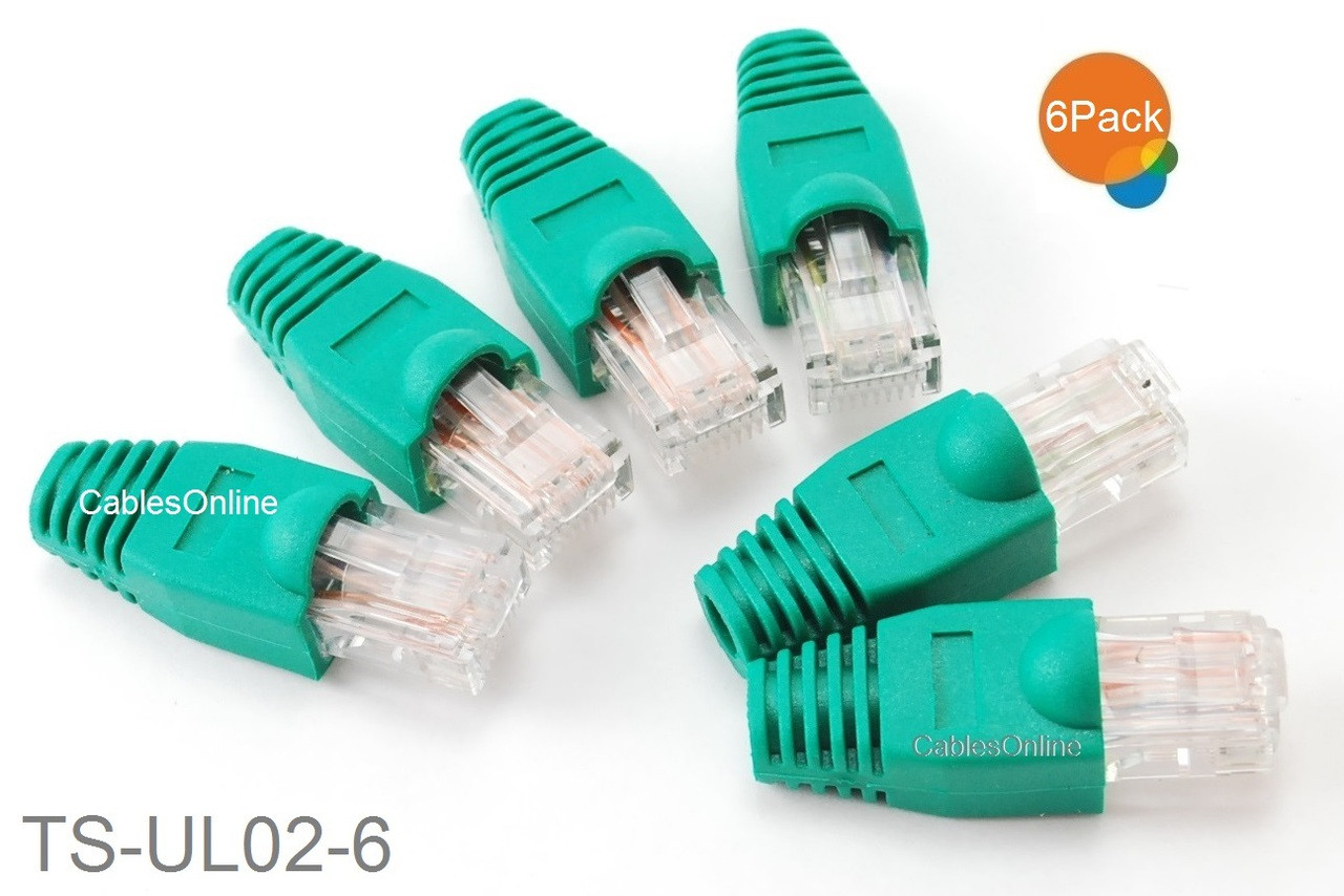 6 Pack 4 Pair Ethernet Loopback Plug Pinout 1 32 64 75 8 Green Network Jack Wiring Diagram Round Image