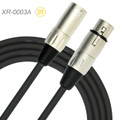 3ft Kirlin XLR 3-Pin Male to Female 20AWG/2C OFC Microphone Cable, XR-0003A