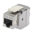 Cat6A RJ45 180° Termination Shielded Keystone Jack