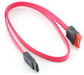 18 inch SATA 7-Pin Male to Female Extension Cable, Red