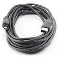 15 ft. IEEE 1394 Firewire 4 Pin to 6 Pin M/M Cable