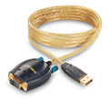 1' USB to DB9 Male Adapter, GoldX GXMU-1201