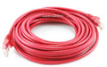 25 ft. CAT.5E UTP Patch Ethernet Cable with Snagless Molded Boots, Red
