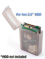 2.5 Inch HDD Protective Storage Box for IDE or SATA, Gray