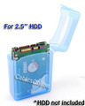 2.5 Inch HDD Protective Storage Box for IDE or SATA, Blue