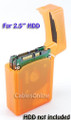 2.5 Inch HDD Protective Storage Box for IDE or SATA, Orange