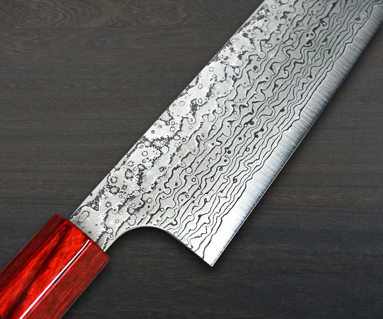 Kei Kobayashi R2 Damascus Special Finished