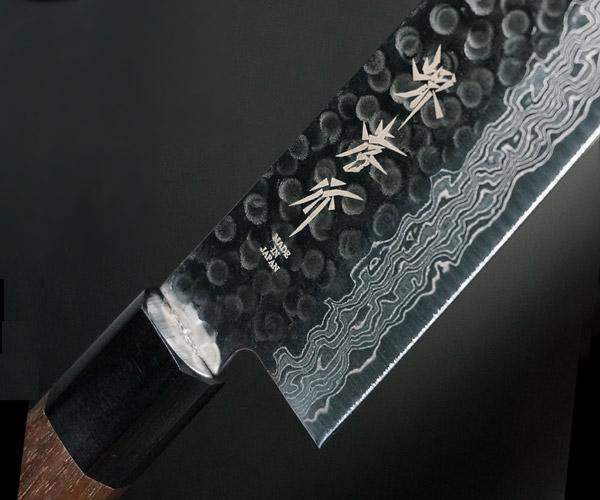 Sakai Takayuki Damascus(45L) Hammered Japanese-style Handle