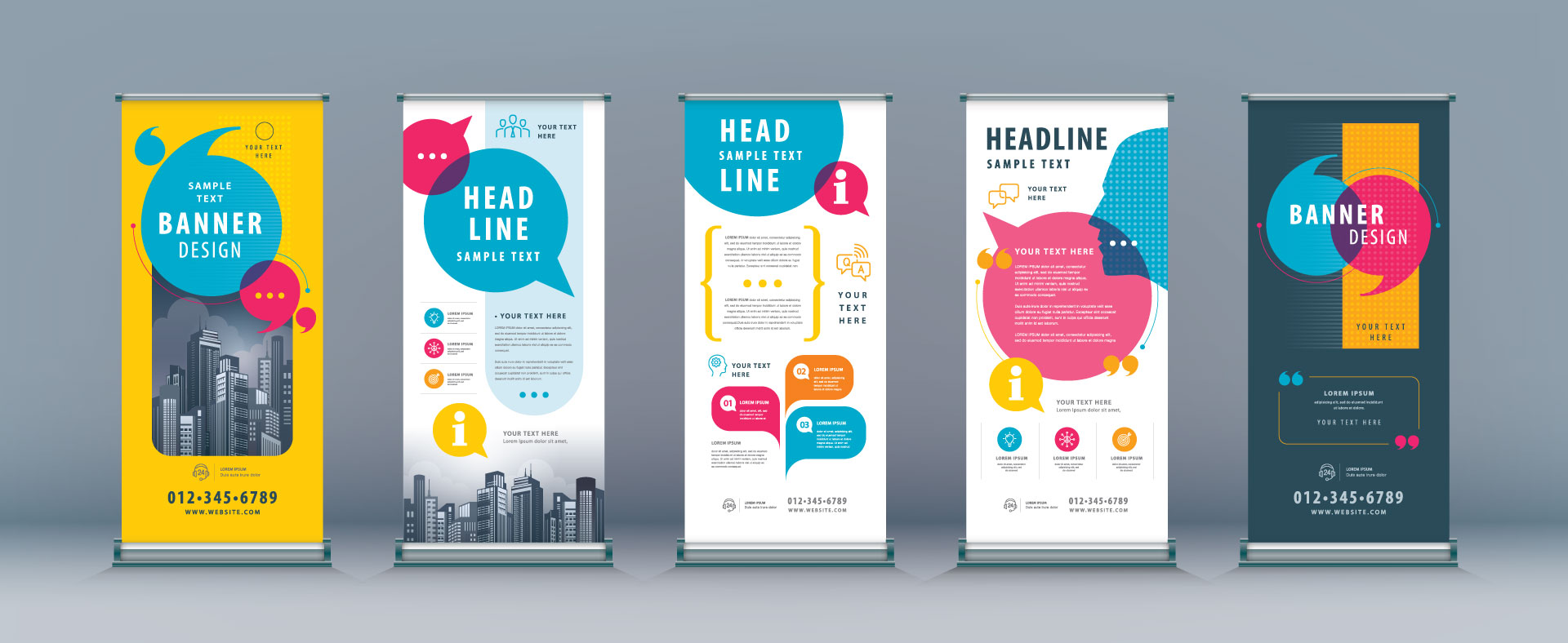 Retractable Banner Stands - Design Ideas
