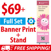 $69+ CHEAP! Retractable Banner Stands