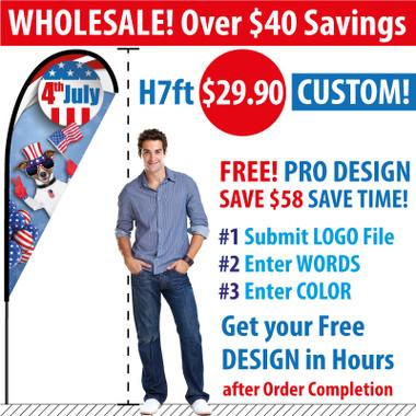 Teardrop Banners Wholesale