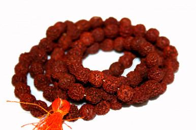 "Rudraksha Mala Prayer beads. ""The eye of Rudra"". At Tibet Spirit Store"