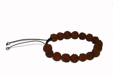 Rudraksha Hand Mala Prayer Beads. At Tibet Spirit Store